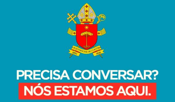 Durante isolamento social, Arquidiocese de Curitiba disponibiliza canal de Escuta Solidária
