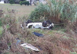 PRF e Caminhos do Paraná atendem acidente com óbito em Palmeira