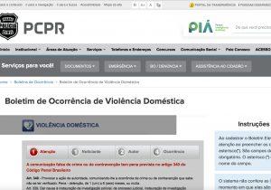 Violência doméstica pode ser denunciada através da internet