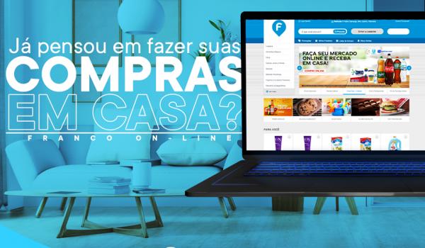 Franco lança aplicativo e site para compras online