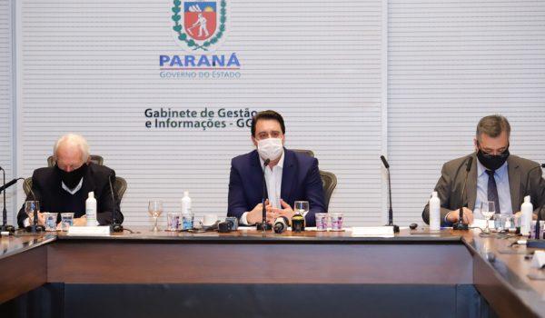 Paraná impõe medidas mais restritivas para conter pandemia da Covid-19