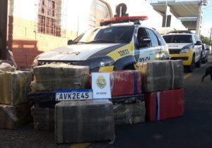 Polícia Militar de Palmeira apreende cerca de 400 quilos de maconha