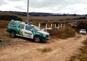 Polícia Ambiental atende denúncia em Palmeira
