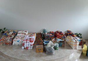 Mês Vocacional arrecada mais de 2.300 quilos de alimentos