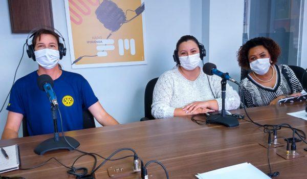 Rotary Clube e Secretaria de Saúde falam sobre Dia D da Campanha contra Pólio