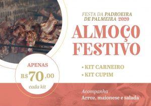 Paróquia realiza venda de kits almoço para a festa da Padroeira
