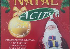 Campanha de natal da ACIP deve distribuir mais de 90 mil cupons