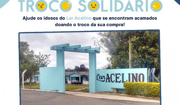 Troco Solidário do Franco será destinado para o Lar Acelino