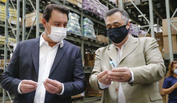 Paraná está pronto para iniciar vacinação contra a Covid-19, diz Ratinho Junior