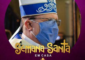 Mais de 7 mil pessoas já adotaram o tema 'Semana Santa em Casa' na foto de perfil no Facebook