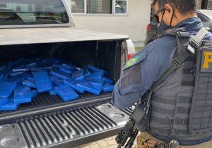 PRF apreende mais de 100 quilos de cocaína em Balsa Nova