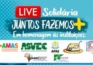 Projeto 'Viva Valores' realiza live para homenagear entidades palmeirenses