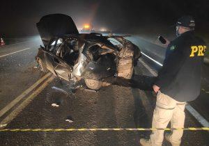 Grave acidente deixa quatro feridos e um óbito na BR 277