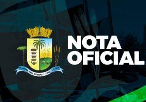 Prefeitura emite nota sobre entregas de telhas para comunidade de Guarauninha