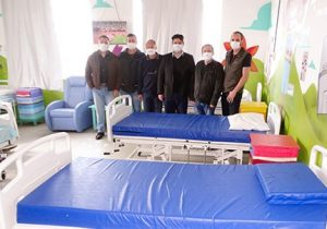 Rotary destina cinco camas para Santa Casa de Palmeira