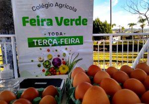 Terça-feira é dia de Feira do Colégio Agrícola na Feira Verde
