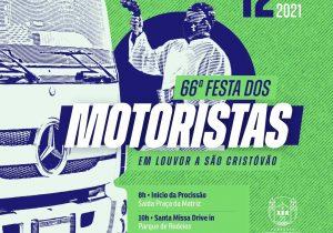 66ª festa dos motoristas acontecerá dia 12 de setembro