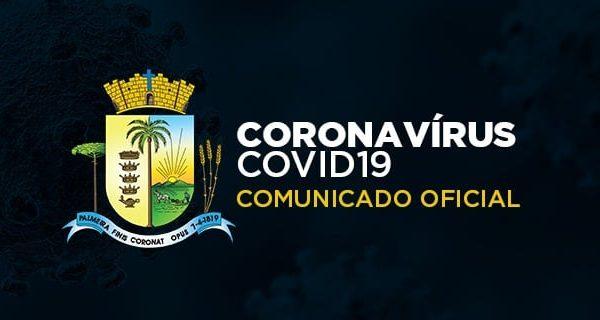 Município publica decreto com novas medidas para o enfretamento da Covid-19 em Palmeira