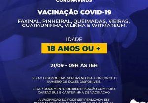 SMS disponibiliza vacinação para área rural do Município