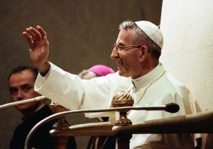 Papa João Paulo I tem milagre reconhecido e será proclamado beato