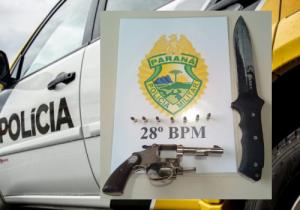 PM recebe denúncia de ameaça com arma de fogo e encaminha suspeito para Delegacia