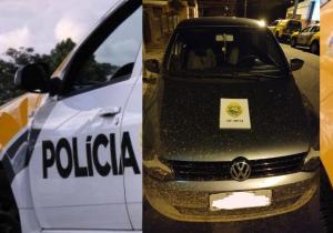 Polícia Militar recupera veículo roubado em Palmeira